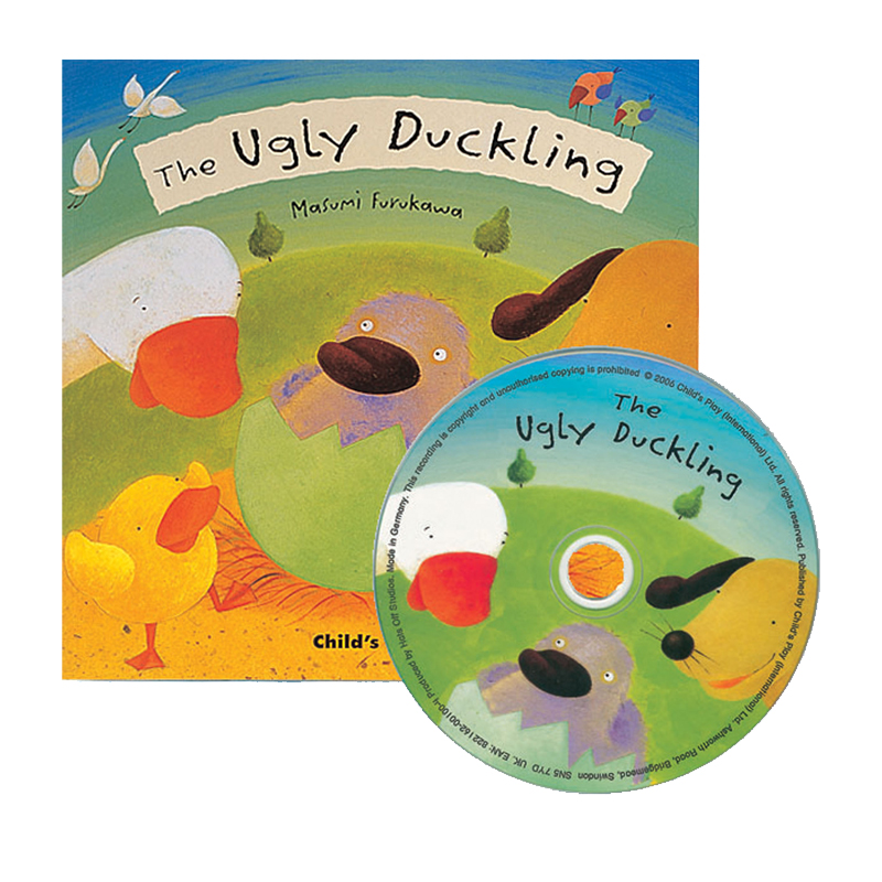 The Ugly Duckling - Book & CD