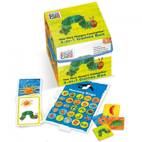 The Very Hungry Caterpillar 4:1 Games Cube