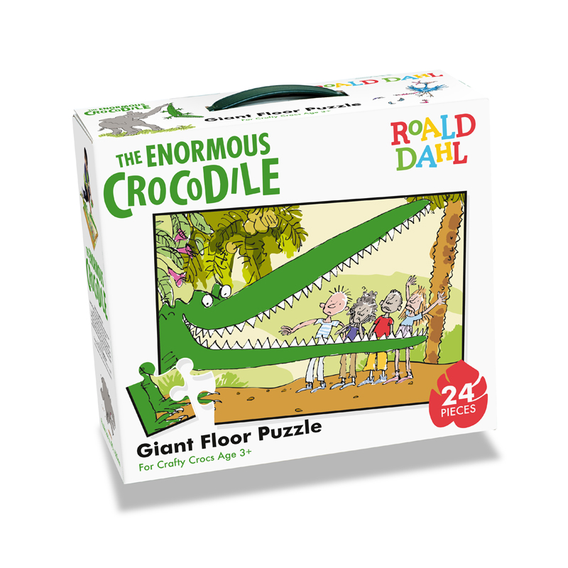 Tumble Tots Enormous Crocodile 24 Piece Jumbo Floor Puzzle