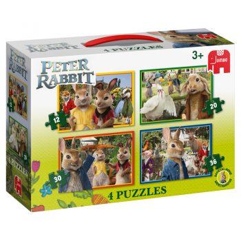 Peter Rabbit 4 Puzzles