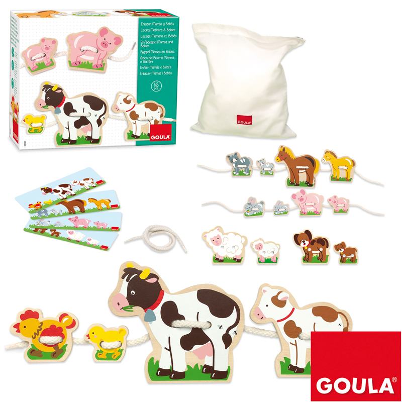 Toys & Games|Educational Toys Lacing Mothers and Babies