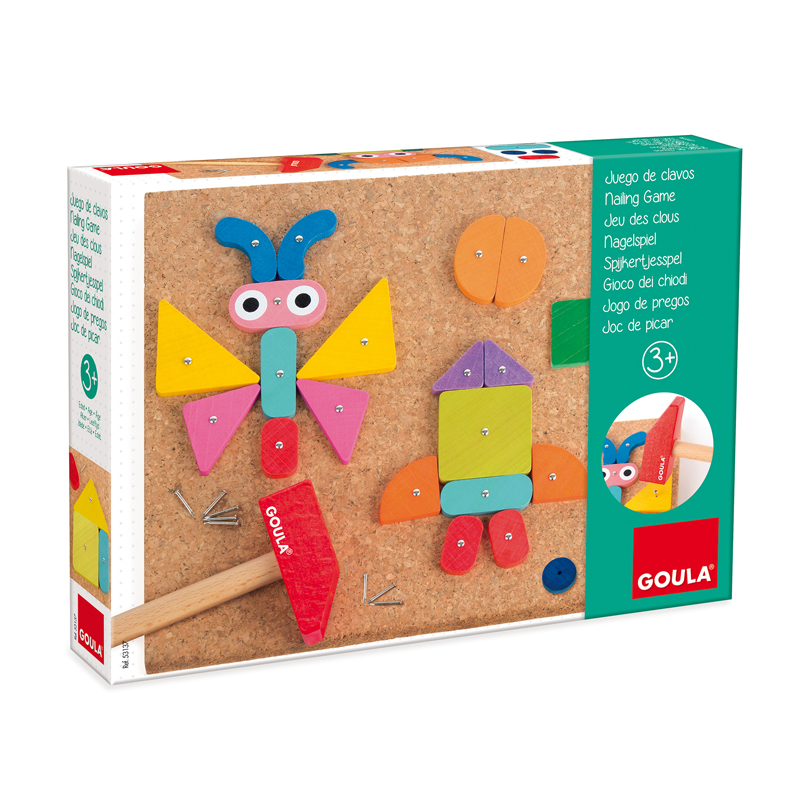 Toys & Games|Educational Toys Nailing Game