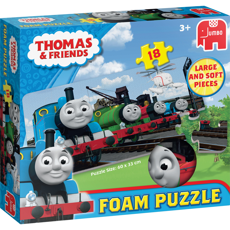 Toys & Games|Puzzles Thomas & Friends Foam Floor Puzzle