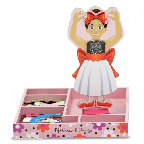 Magnetic Dress-Up Set: Nina Ballerina