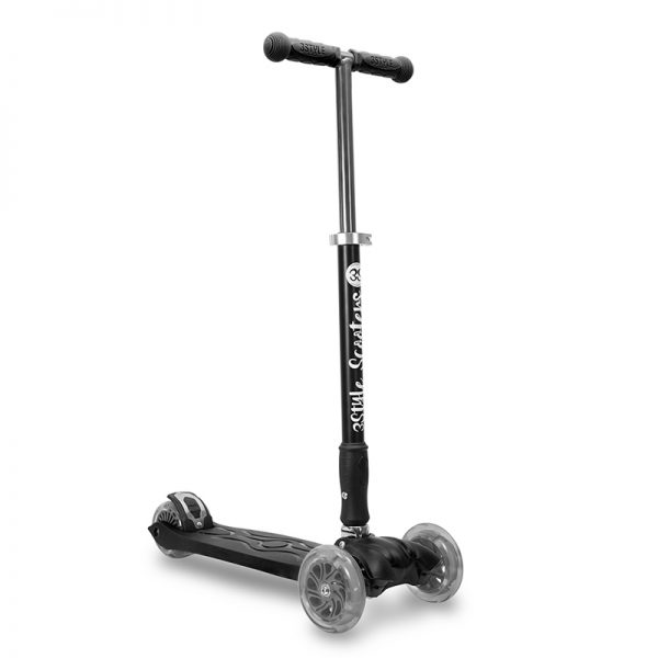 Kids 3 Wheel Kick Scooter RGS-2 Black