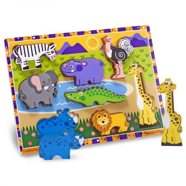 Safari Animals - Chunky Puzzle