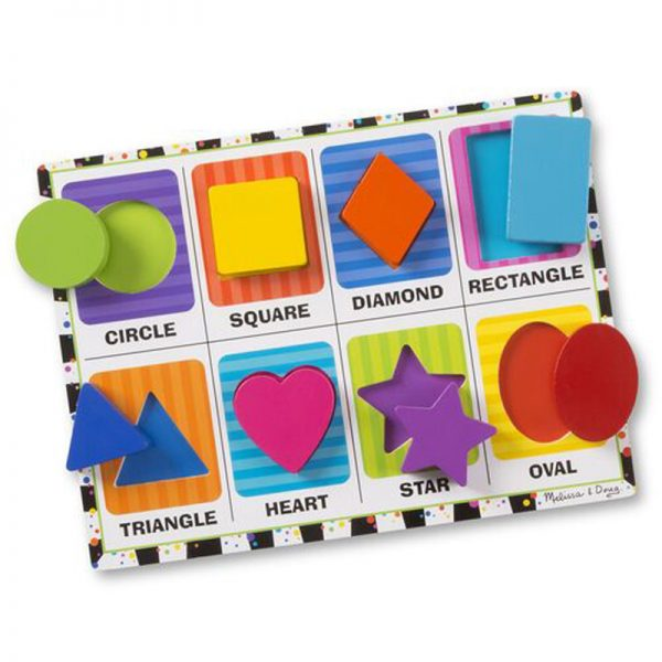 Shapes - Chunky Puzzle