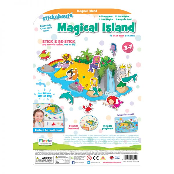 Stickabouts Magical Island