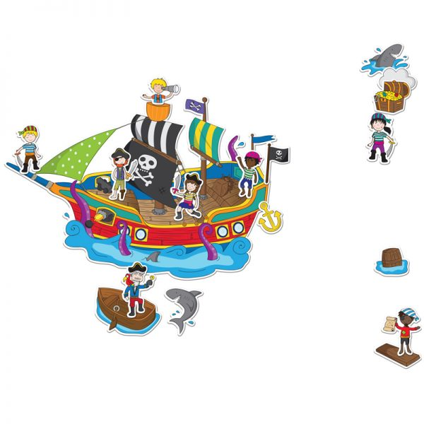 Stickabouts Pirate Ship