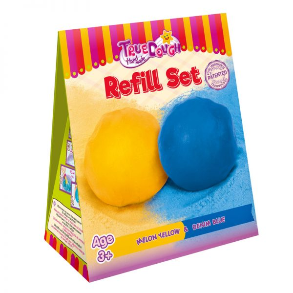 TruDough Refill Set - Denium Blue & Melon Yellow