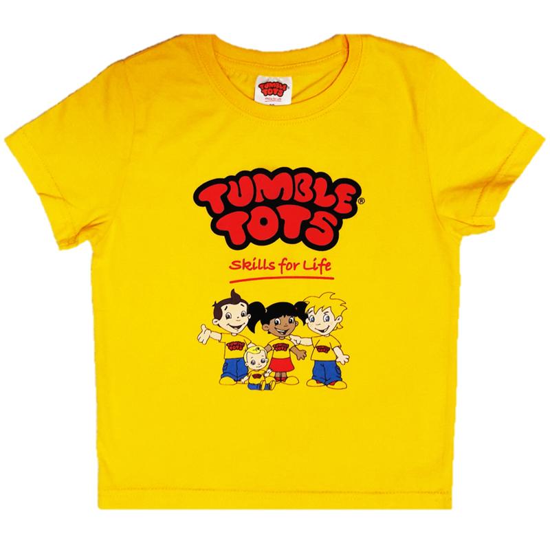 Tumble Tots Yellow Streamer